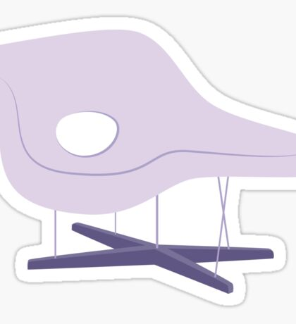 Ray & Charles Eames Chaise Lounge Chair Classic Design Sticker