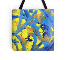 The Strokes inspired painting Tote Bag