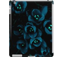 Glow in the night flowers iPad Case/Skin