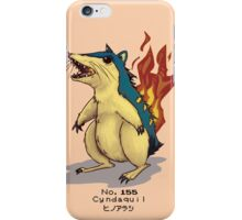 No. 155 Cyndaquil iPhone Case/Skin