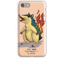 No. 155 Cyndaquil iPhone Case/Skin