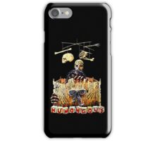 Here are the monster's little toys. Once they were little girls and boys. iPhone Case/Skin