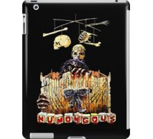 Here are the monster's little toys. Once they were little girls and boys. iPad Case/Skin
