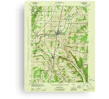 New York NY Nunda 128830 1944 31680 Canvas Print