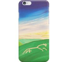 The White Horse at Uffington iPhone Case/Skin
