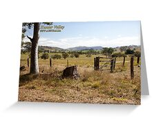 Rural Scene near Gresford, NSW Greeting Card