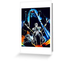 Warrior of the Lost World Greeting Card