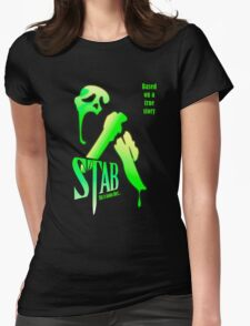Stab (from the Scream movie) Womens Fitted T-Shirt