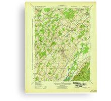 New York NY Unionville 139443 1943 31680 Canvas Print