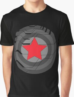 Winter Soldier Shield Graphic T-Shirt