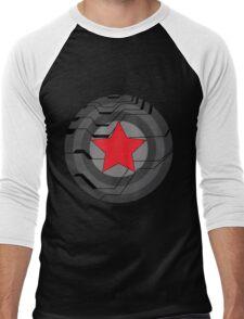 Winter Soldier Shield Men's Baseball ¾ T-Shirt