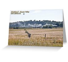 Steam Loco 3642 -Oakhampton, NSW Greeting Card