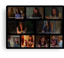 Jackie Burkhart Quotes Canvas Print