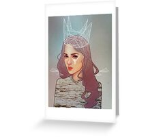 QUEEN II Greeting Card