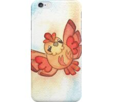 Watercolor Magestic Soaring Through the Sky PIDGEY  iPhone Case/Skin