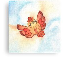 Watercolor Magestic Soaring Through the Sky PIDGEY  Canvas Print