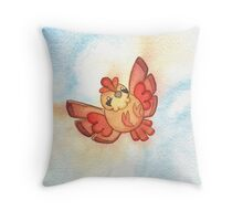 Watercolor Magestic Soaring Through the Sky PIDGEY  Throw Pillow