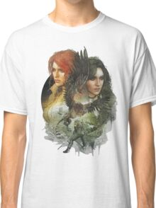 the witcher 3 wild hunt triss and yennefer Classic T-Shirt