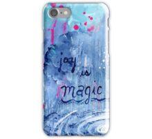 joy is magic iPhone Case/Skin