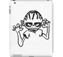 zombie funny creepy blood cool iPad Case/Skin