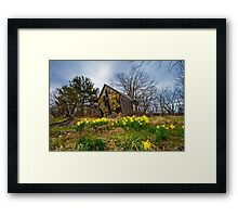 In With the New Framed Print