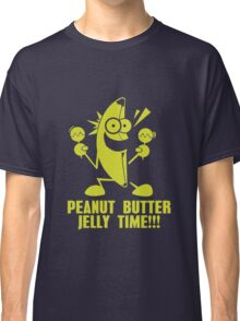 Banana Peanut Butter Jelly Time funny nerd geek geeky Classic T-Shirt