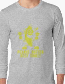 Banana Peanut Butter Jelly Time funny nerd geek geeky Long Sleeve T-Shirt