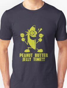 Banana Peanut Butter Jelly Time funny nerd geek geeky T-Shirt