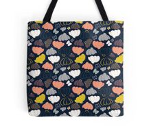 Blooming Fields at Midnight Tote Bag