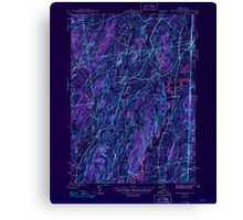 New York NY West Pawlet 140193 1946 31680 Inverted Canvas Print