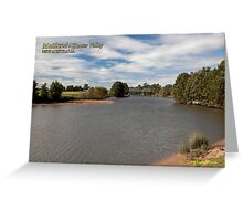 Morpeth Bridge (1898) -Hunter River Greeting Card