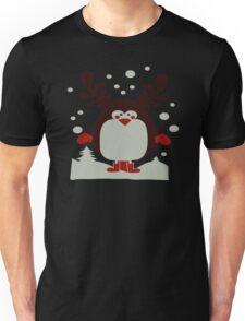 Christmas T Shirt Santa Reindeer Penguin Novelty Xmas Unisex T-Shirt