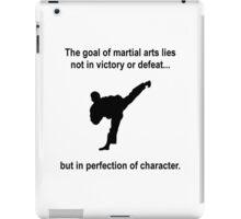Martial Arts Character iPad Case/Skin