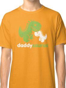 Daddysaurus Dinosaur Dino Classic T-Shirt
