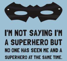 Me And Superhero Kids Tee
