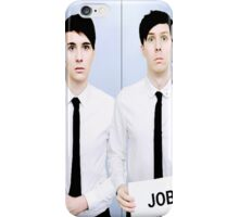 Dan and Phil Get Jobs iPhone Case/Skin