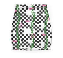 Venus Checker Skirt Mini Skirt