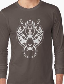 Final Fantasy Cloudy Wolf Long Sleeve T-Shirt