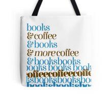 Books -> Coffee -> Books -> COFFEECOFFEEBOOKSBOOKSBOO Tote Bag