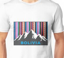 Andean mountains and colored sky Unisex T-Shirt