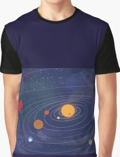 Love makes the world go round Graphic T-Shirt