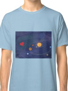 Love makes the world go round Classic T-Shirt