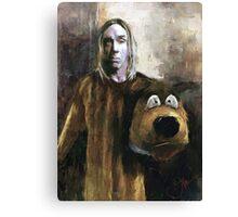 I WANNA BE YOUR DOG Canvas Print