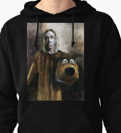 I WANNA BE YOUR DOG Pullover Hoodie
