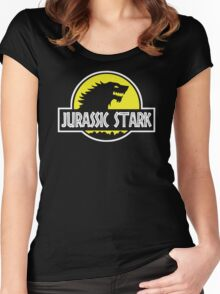 Jurassic Stark Game of Thrones Women's Fitted Scoop T-Shirt