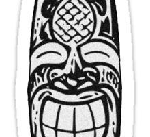Tiki Surfboard Sticker