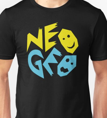 Neo Geo Tribute Yellow & Blue Logo Unisex T-Shirt