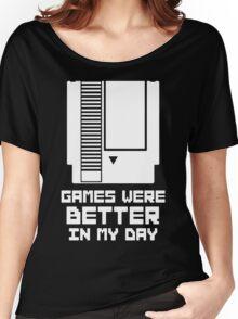 NES Games were better Unisex Women's Relaxed Fit T-Shirt