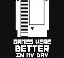 NES Games were better Unisex Unisex T-Shirt