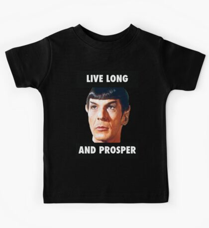 Live Long and Prosper Kids Tee